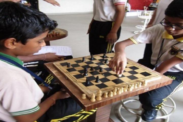 Saket International School-Indoor Games Chess