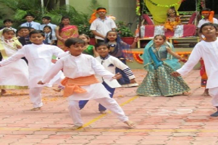 Saket International School-Krishna ashtami Celebrations