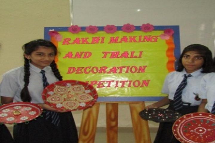 Saket International School-Raksha Bandhan
