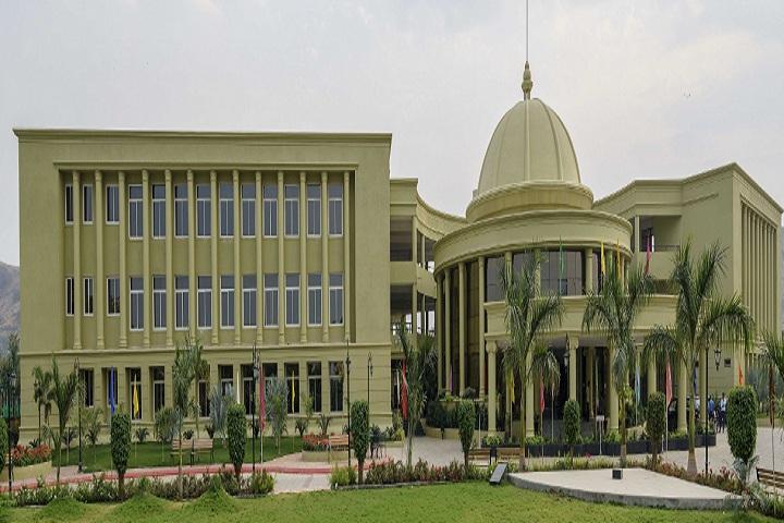 Saket International School-School building