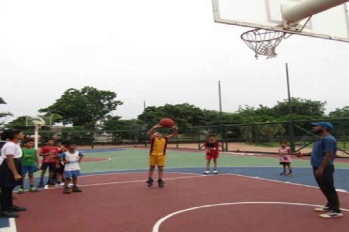Saket International School-Sports basket ball