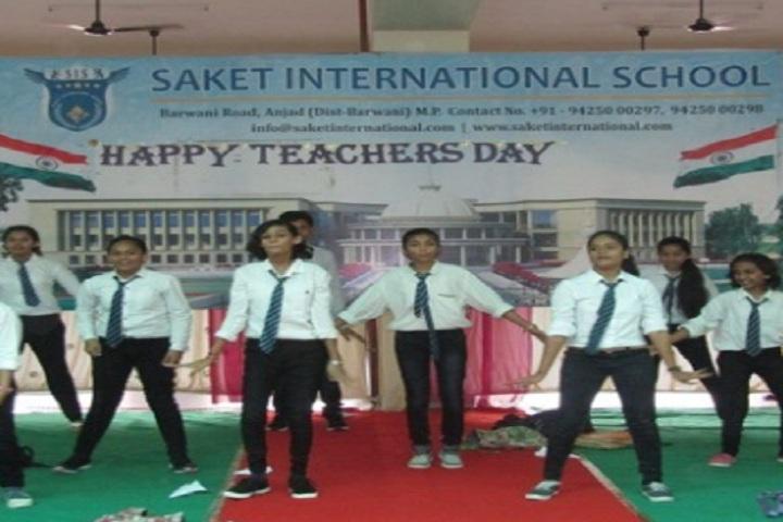 Saket International School-Teachers day celebrations