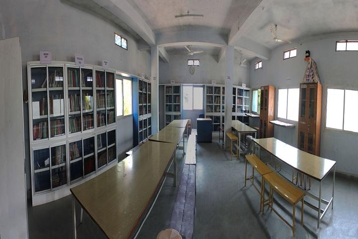 Samaritians English Medium Higher Secondary School-library
