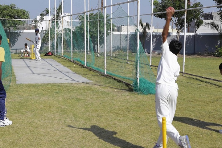 San Thome Academy-Cricket Practise