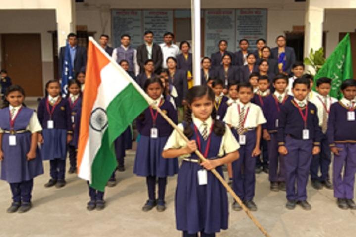 Sankalp Higher Secondary School-Flag Day