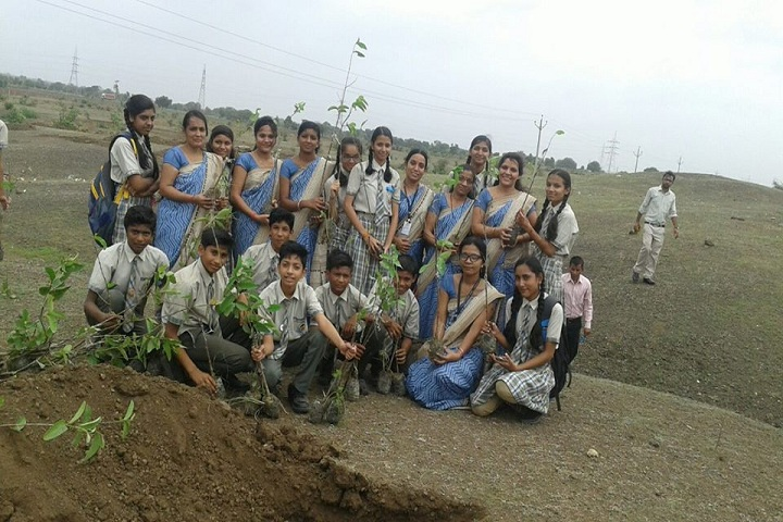 Sanskar Academy-Tree Plantation