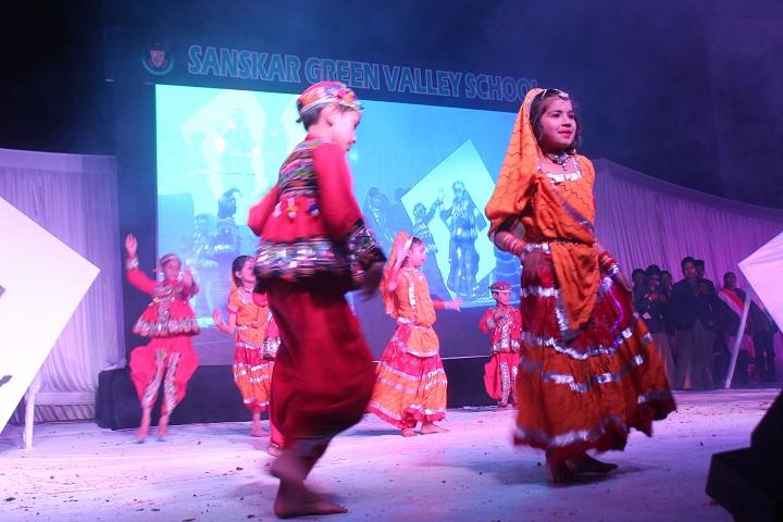 Sanskar Green Valley School-Dance