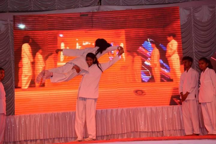 Sanskriti Public School-karate