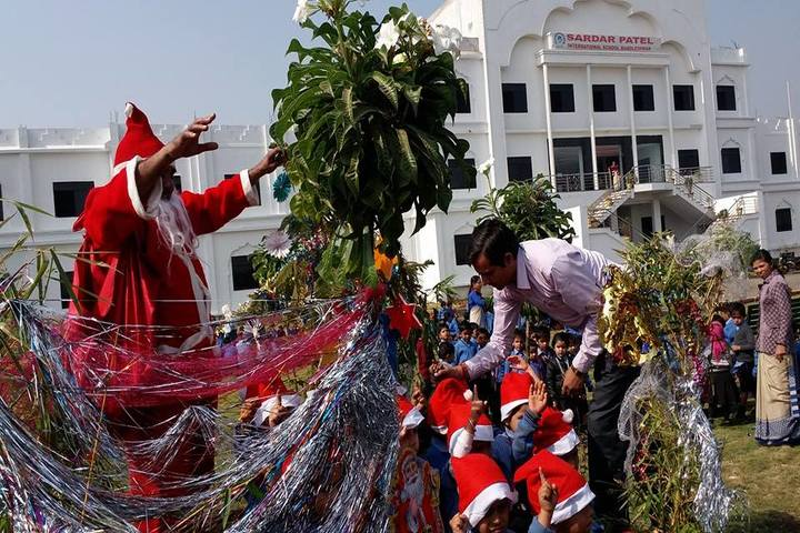 Sardar Patel International School-Christmas Celebrations