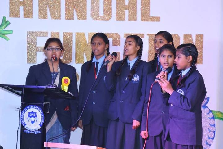 Sardar Patel International School-Group Song