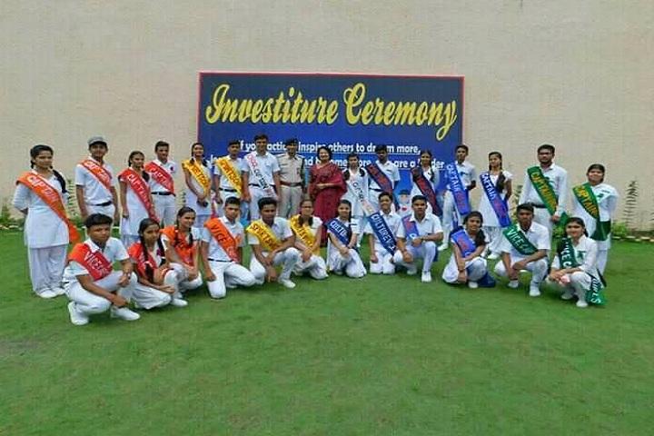 Sarla Higher Secondary School-Events investiture ceremony