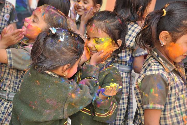 Satpura Academy-Holi Celebrations