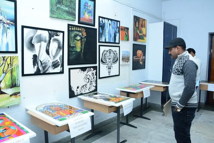 Scindia Kanya Vidyalaya-Arts Room