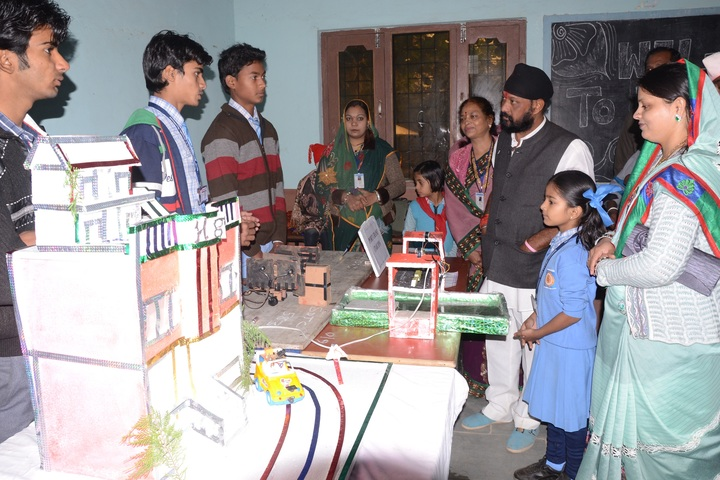 Shamgarh Public School-School Exhibition