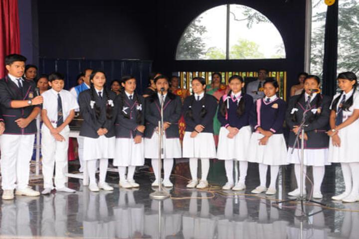 Shanti Niketan Montessori Higher Secondary School-Singing