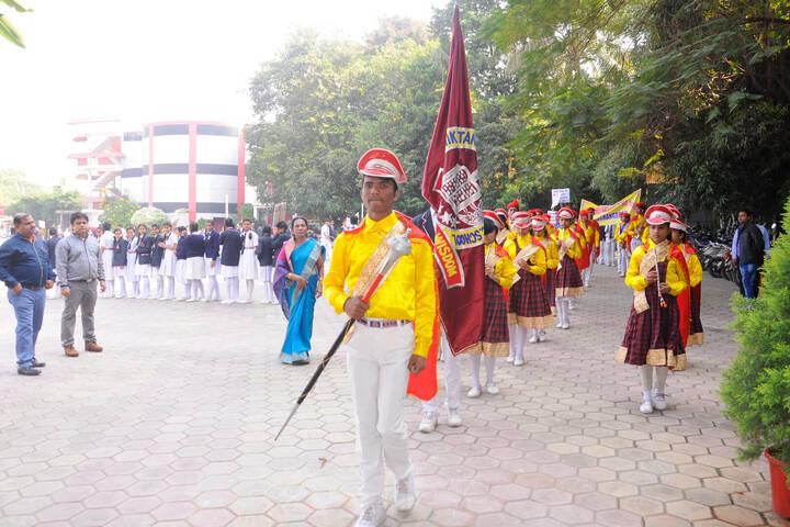 Shanti Niketan Montessori Higher Secondary School-Sports day