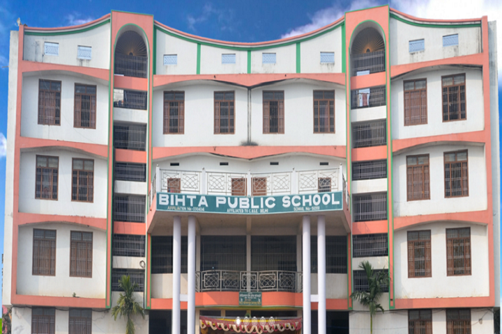 Bihta Public School-Campus-View front