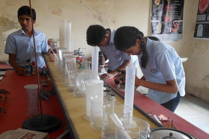 Shree Balaji Academy-Science Lab