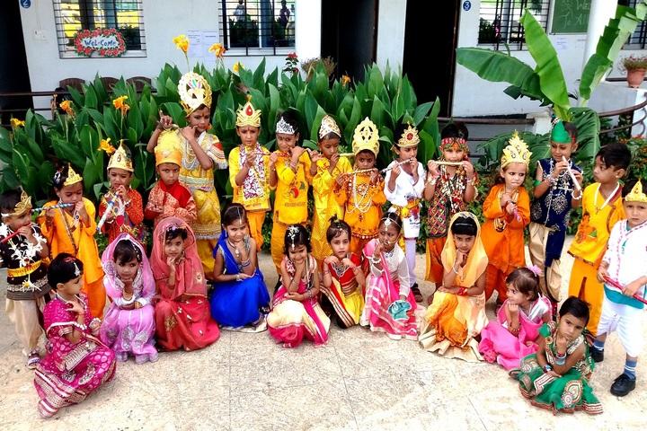 Shree J K Public School-Janmastami Celebration