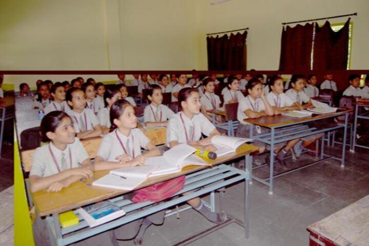 Shree Mahaveer Higher Secondary School-Classroom