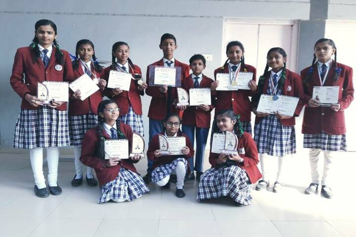 Shree Nahar Convent Senior Secondary School-Achievement