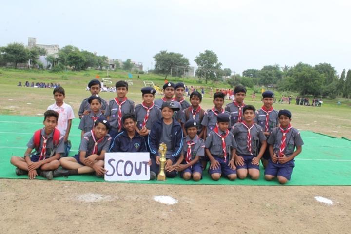 Shree Sanskar Academy-Scout and NCC