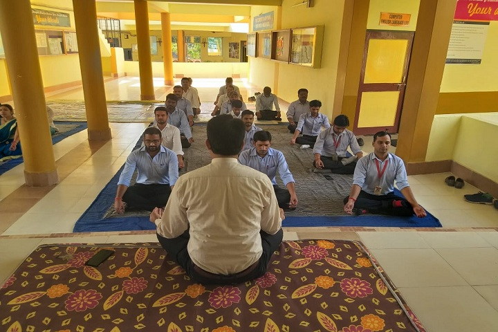Shri Ganesh Higher Secondary School-Yoga
