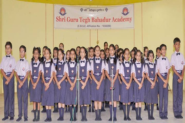 Shri Guru Tegh Bahadur Academy-Singing