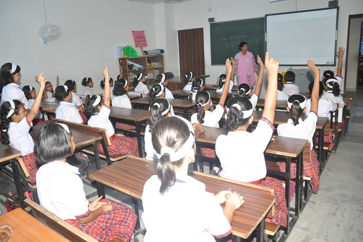 Bishop Scott Senior Secondary Girls School-Classroom smart
