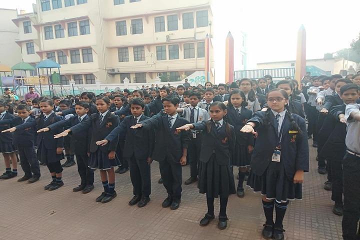Shri Rawatpura Sarkar International School-Assembly
