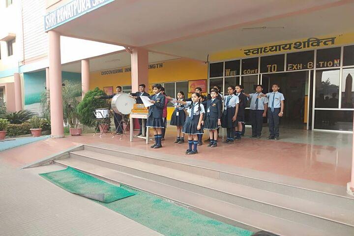Shri Rawatpura Sarkar International School-Prayer