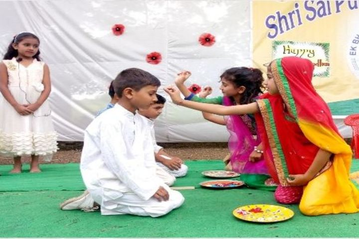 Shri Sai Public School-Rakhi Celebrations