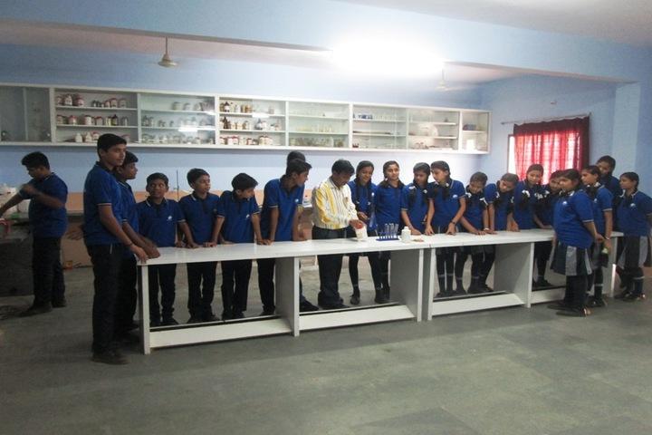 Shri Vinayakam School-Chemistry Lab