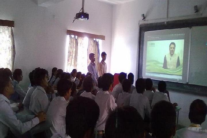 Blue Bells Academy-Classroom smart