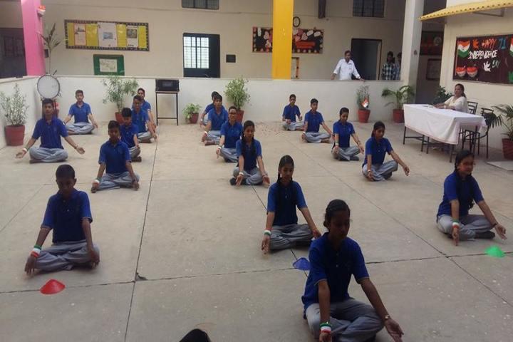 Silver Bells School-Yoga