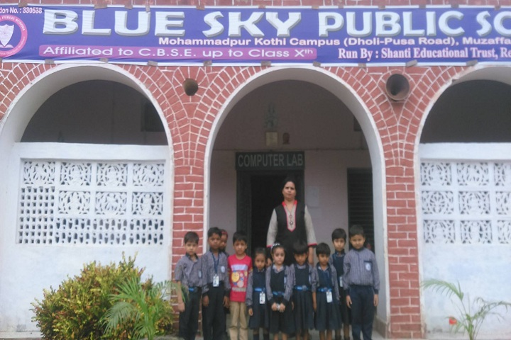 Blue Sky Public School-Campus View