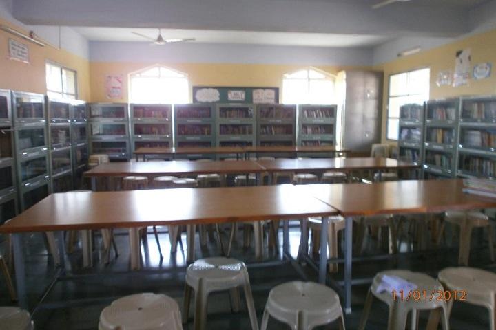 Sophia Convent Senior Secondary School-Library