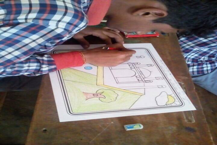 South East Central Railway Mixed Higher Secondary School-Art Competition