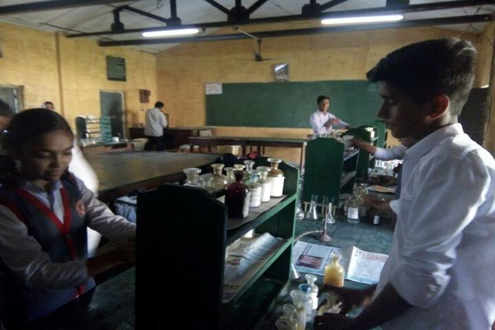 South East Central Railway Mixed Higher Secondary School-Lab
