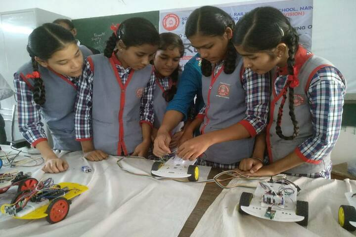 South East Central Railway Mixed Higher Secondary School-Science Exhibition