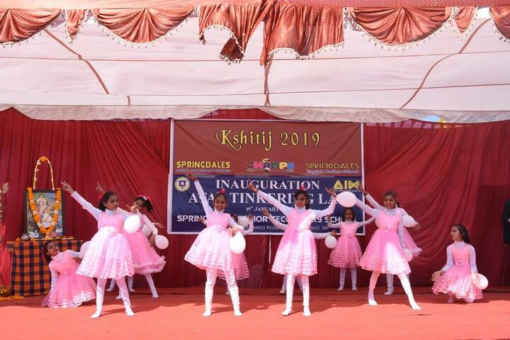 Springdales Senior Secondary School-Dance