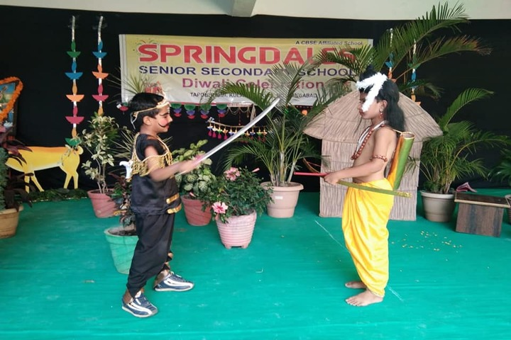 Springdales Senior Secondary School-Skit