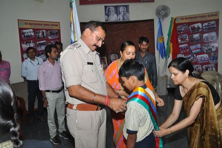 Sri Aurobindo Public School-Investiture Ceremony