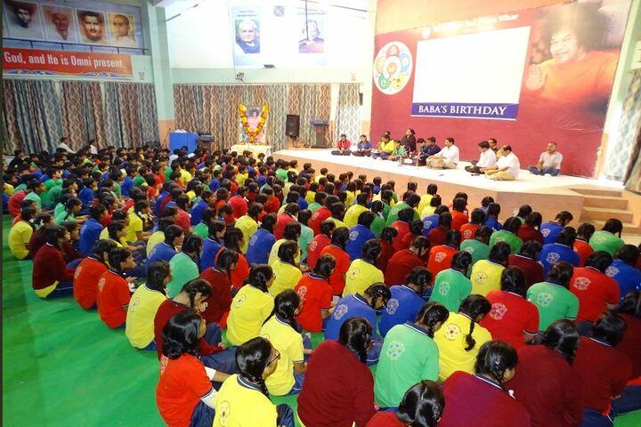 Sri Sathya Sai Vidya Vihar-Baba Birthday Celebrations