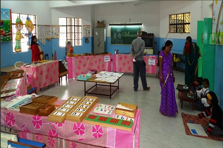 Sri Sathya Sai Vidya Vihar-Maths Exhibition