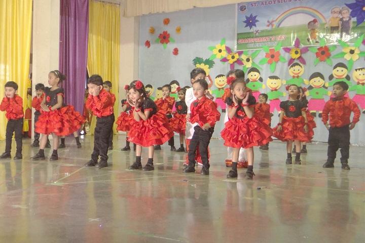 St  Aloysius Senior Secondary School-Dance
