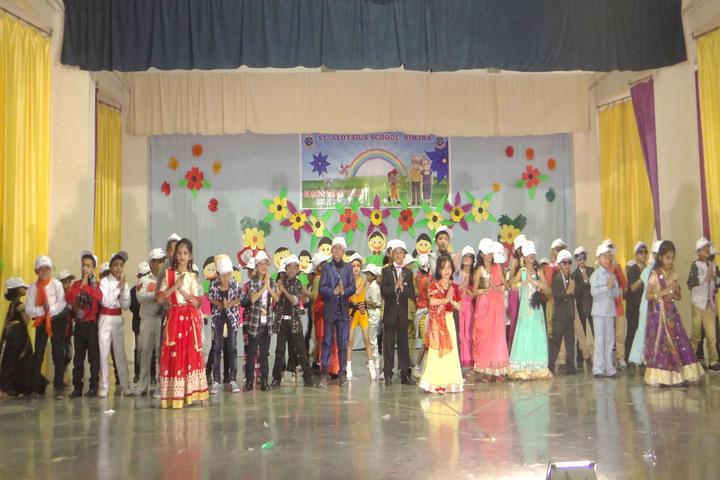 St  Aloysius Senior Secondary School-Grand Parents Day Celebrations