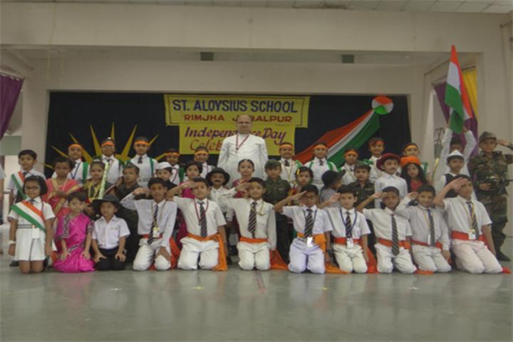 St  Aloysius Senior Secondary School-Independence Day Celebrations