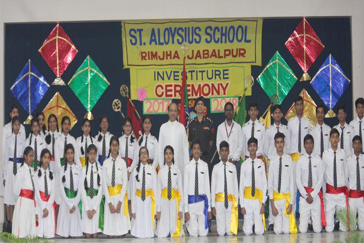 St  Aloysius Senior Secondary School-Investiture Ceremony