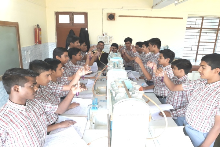 St Annes Higher Secondary School-Chemistry Lab